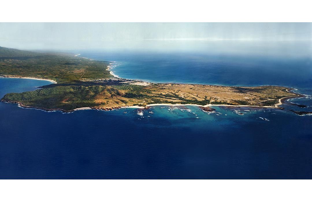 Vista aerea de Punta Mita. Foto cuadarada
